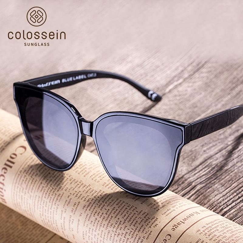COLOSSEIN Cat Eye Luxury Sunglasses Women Brand Designer Retro Female Sun Glasses For Women Men Oculos Gafas De Sol