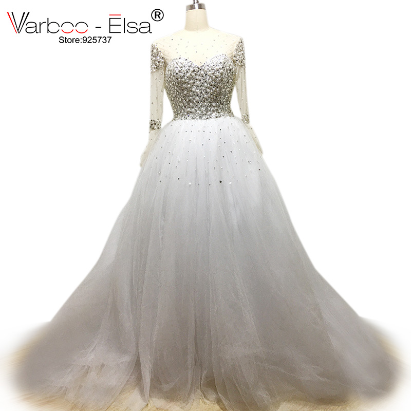 Crystal wedding dresses ball gown wedding dress 2017 for Wedding dresses from china reviews