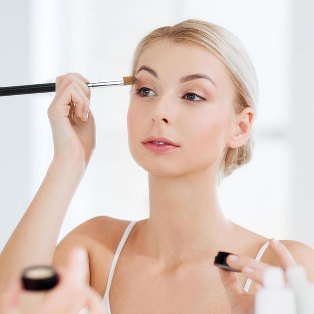 1/3Pcs Makeup Brush Cosmetic Brushes Kabuki Face Nose Brushes Concealer Foundation Eyebrow Eyeliner Blush Powder Makeup Tool 4