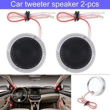 2pcs 12V 150W Car Speaker High Efficiency Mini Dome Tweeter Speakers Loundspeaker Lound speaker for Audio Sound System