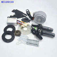 Newest Electric Bike Conversion Kit Can Fit Most Of Common Bicycle Use Spoke Sprocket Chain Drive 36V 450W Motor Bike Conversion