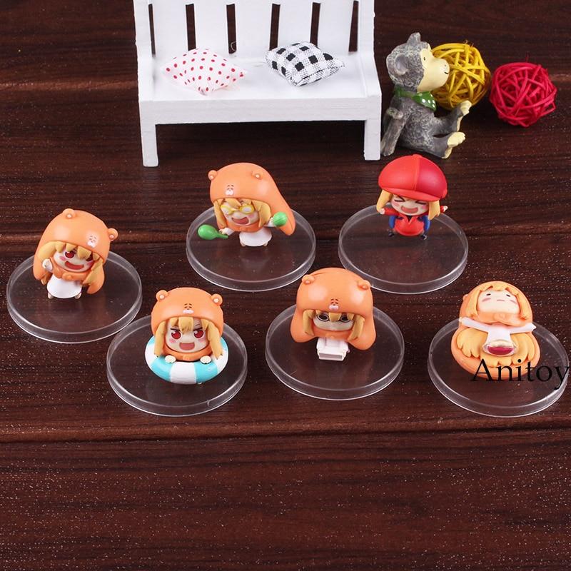 Image 5 - Himouto Umaru chan himouto umaru chan figure doma umaru doll PVC Action Figure Set Collectible Modle ToysAction & Toy Figures   -
