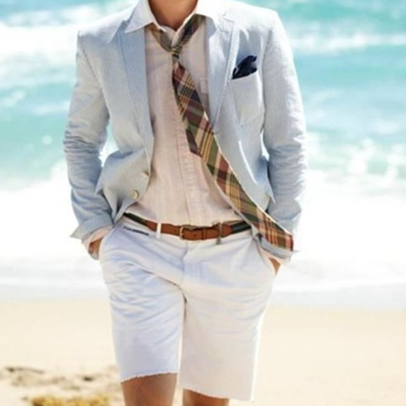 <font><b>mens</b></font> classic <font><b>suits</b></font> costume mariage homme Linen <font><b>men's</b></font> <font><b>suit</b></font> <font><b>shorts</b></font> 2 (jacket + <font><b>shorts</b></font>) beach summer <font><b>suit</b></font> custom <font><b>men's</b></font> casual <font><b>suit</b></font> image