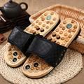 B02 Gallina de los huevos de piedra zapatos de masaje de acupuntura del masaje del pie cuidado/hombre mujer sandalias de verano y zapatillas