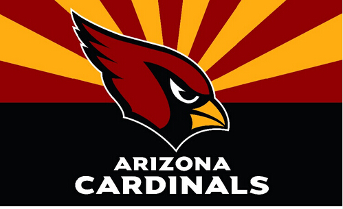 The New Arizona Cardinals flag 3ftx5ft Banner 100D Polyester Flag whit 2 metal Grommets ...