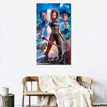 Wallpaper Alita Battle Angel 2019 HD Canvas Painting Print Living Room Home Decor Modern Wall Art Oil Painting Poster Pictures римская штора томдом гелона