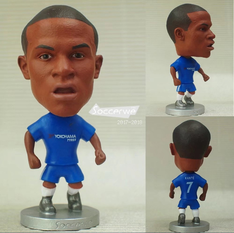 Football star Soccer Player Star 13# KANTE (C-2018) 2.5 Toy Doll Figure 2017/2018