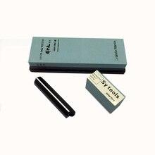 цена на Premium Whetstone Knife Sharpening Stone 2 Side Grit 400/600 Waterstone |Best Whetstone Sharpener| NonSlip Nylon Base Guide