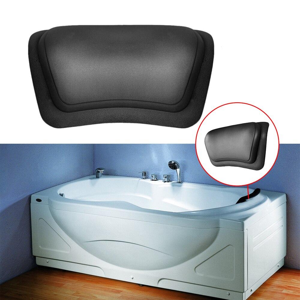 2017 New Eco Friendly Comfortable SPA Bath Pillow Headrest Suction ...