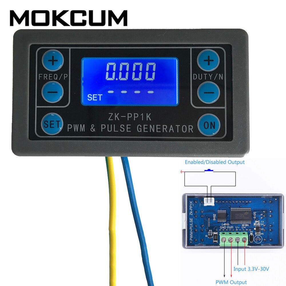 2 Channel PWM Pulse Square Wave Generator Module 1Hz-150KHz For Stepper Motor