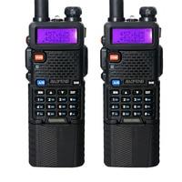 2PCS Baofeng UV 5R 3800mAh Walkie Talkie 5W Dual Band Portable Radio UHF 400 520MHz VHF