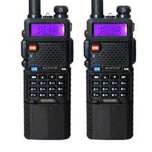 2PCS Baofeng UV-5R 3800mAh Walkie Talkie 5W Dual Band Portable Radio UHF 400-520MHz VHF 136-174MHz UV 5R Two Way Radio portable