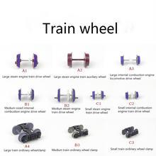 20 шт/лот ho n z пропорциональные колесики модели поезда 1:87