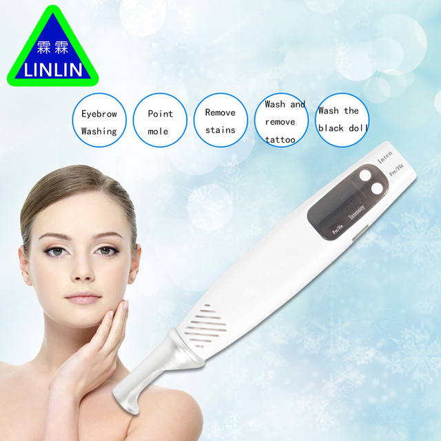 LINLIN Picosecond laser High grade spot cleaning tool. Get rid of old spots, yellow freckles, black spots