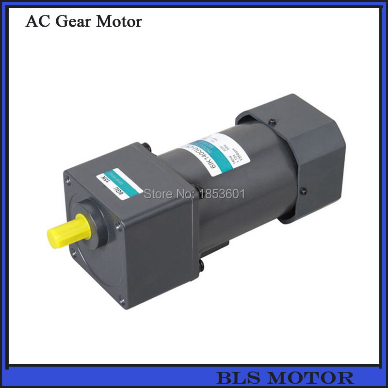 140w 104mm Ac Induction Motor Gear Reducer Ratio 1 15 For