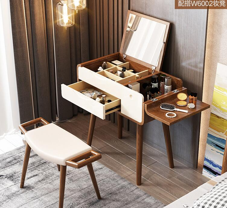 Simple modern dressing table bedroom small family Nordic economical Internet celebrity table.