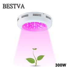 BESTVA UFO 300W led grow light double chips Full Spectrum for indoor plants flower vegetable greenhouse hydroponic systems