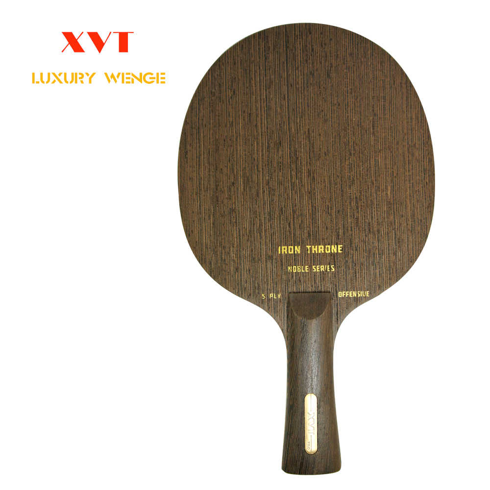 High-END XVT IRON THRONE 5  (nostalgic)  Wenge Wood  Table Tennis paddle/ Table Tennis Blade OFF+