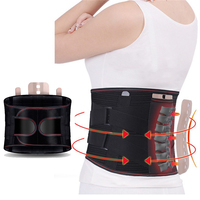 New Promotion waist support Double Adjust Back Pain Relief Back Support Brace Belt Lumbar Lower Waist sport accessories