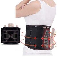 New Promotion waist support Double Adjust Back Pain Relief Back Support Brace Belt Lumbar Lower Waist sport accessories