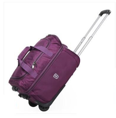 Men Business Trolley Bags Wheeled Bag Women Travel Luggage Case Nylon Suitcase Travel Rolling Bags On Wheels Travel Luggage Bag