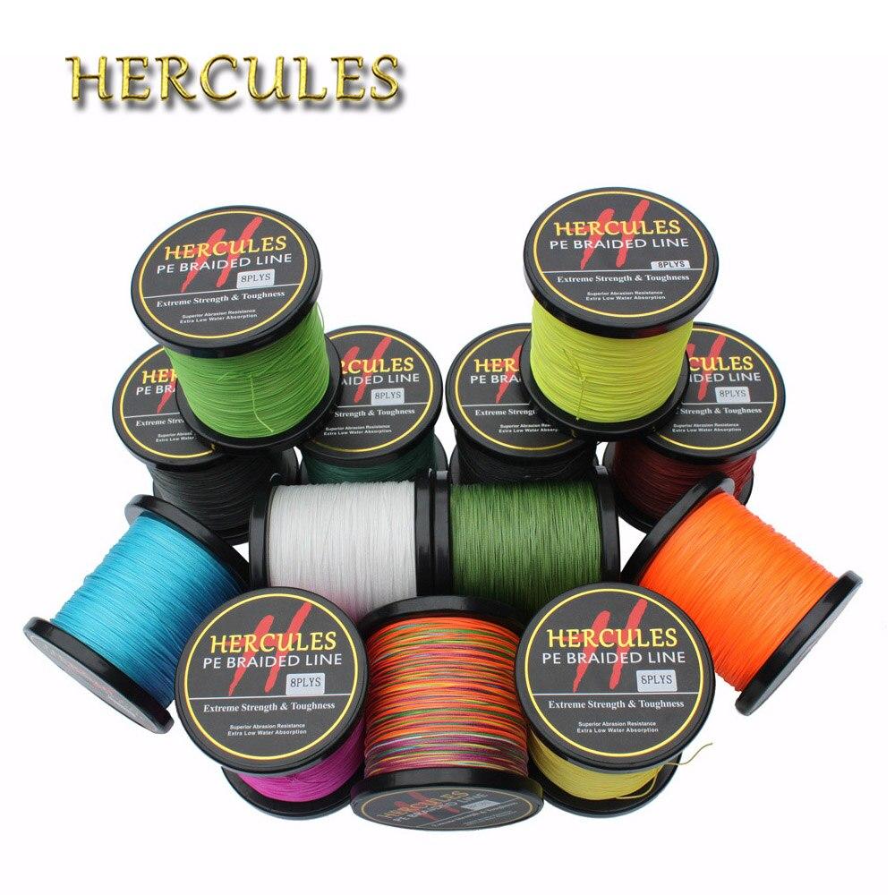 Hercules 150LB 300M Braided <font><b>Fishing</b></font> <font><b>Line</b></font> <font><b>8</b></font> <font><b>Strands</b></font> PE Strong Multifilament <font><b>Line</b></font> Saltwater hengelsport Extreme Super Power