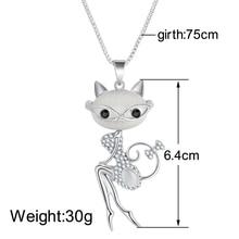 Cat Statement Necklace