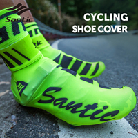 Santic Cycling Rain Shoe Covers Waterproof Bike Bicycle Shoe Covers Cycling Overshoes 2017 Santic Rain Sapatilha