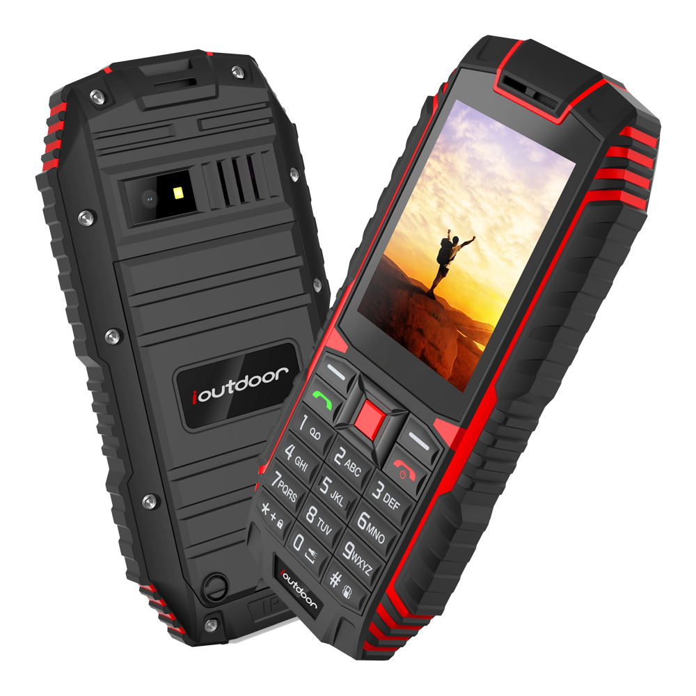 Image 3 - Ioutdoor T1 IP68 rugged cell phone Russian keyboard Waterproof shockproof mobile phone 2MP Camera wireless FM unlocked phones-in Cellphones from Cellphones & Telecommunications