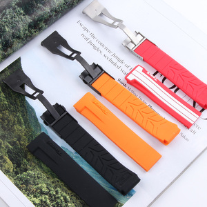 Image 2 - Sport Siliconen Horloge Bands Voor Tissot T048 T048.417 Horloge Horlogebandje T Ras T Sport Horlogeband Armband Waterdicht Zachte rubber