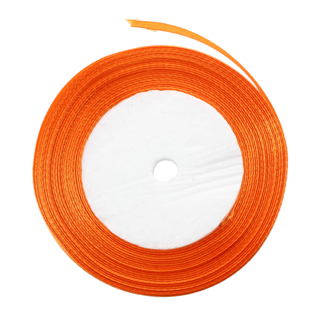 Лидер продаж-3/8 «10 мм 25 ярдов атласная лента, рулон Свадебная вечеринка Craft DIY украшения оранжевый
