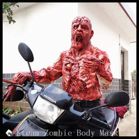 Halloween Party Cosplay Horror Death Bodies Plastic Bloody Zombie Scary Bloody Room Props for KTV Bar Haunted House Decoration