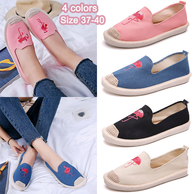 Women Sneakers Suede Brand Shoes Embroidered Flat Bottom Suede Ladies White Shoes Shallow Female Shoes Women trendy women s flat shoes with color block and suede design