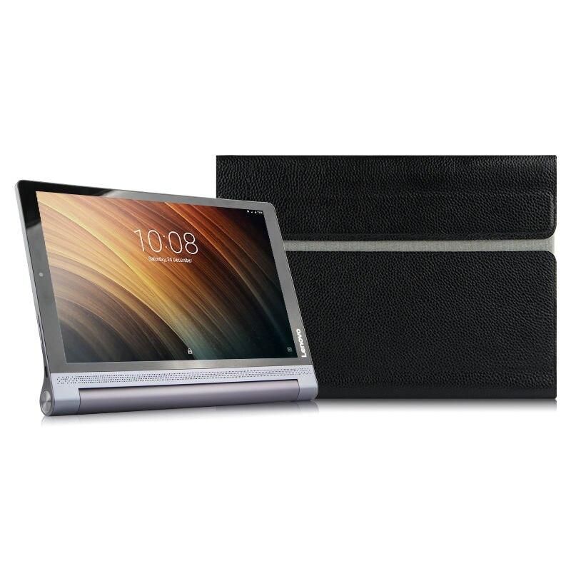 Cas de Vache Pour Lenovo Yoga Tab 3 Plus 10 De Protection Smart cover Véritable En Cuir YT-X703F YT-X703L tablet 10.1 Protecteur Manches
