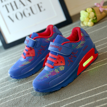 Kids  Boys and Girls Shoes Chaussure Enfant Led Luminous  Sneakers Children Glowing Sneakers  Parents  and Children Shoes