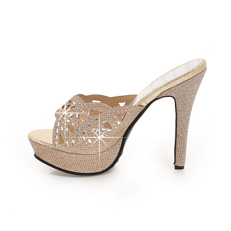 KARINLUNA 2018 plus size 33 43 platform brand Women Shoes Sexy thin High  Heels Dating Party wedding mules Pumps woman Footwear-in Women s Pumps from  Shoes ... b048701a6f87