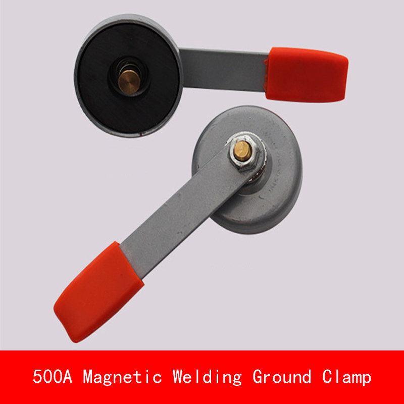 diameter 55MM 86MM max electric current 200A 500A Magnetic Welding Ground Clamp Magnet Sucker welding argon arc welding machine ground wire clamp earth clamp chuck pure copper 300a 500a