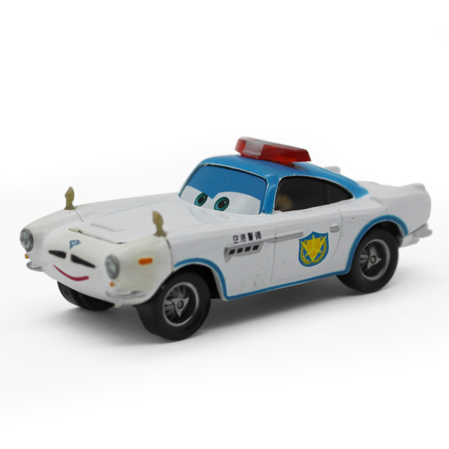 Finn Mcmissile Cars 2: Pixar Cars 2 Police Edition Finn Mcmissile 1:55 Scale