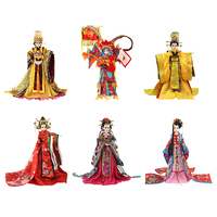 1/6 Bjd Ethnic Doll Ancient China Outstanding Woman Heroine Character Figure Doll Toy Collectible Gifts for Kids/Children/Adults