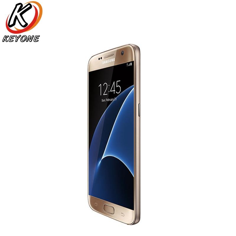 T-Mobile Version Samsung Galaxy S7 G930T 4g LTE Mobile Téléphone 5.1 4 gb RAM 32 gb ROM Quad Core NFC 12MP Portable Appareil Photo Téléphone