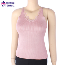 Sexy Tank Tops Sought-After Fashion Summer Lace Tops Sleeveless Knit Camis Vest Casual Slim Camisole