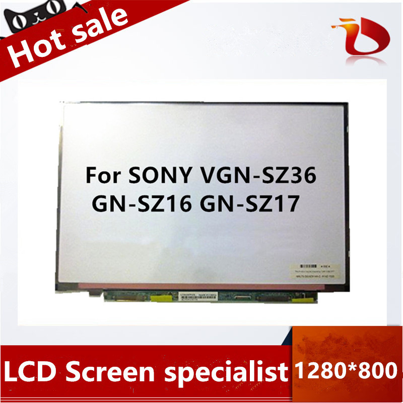 Free Shipping New A+ For SONY VGN-SZ36 GN-SZ16 GN-SZ17 LCD Laptop Screen LTD133EXBX LTD133EXBY LTD133EWZX LTD133EWCF LTD133EWHK
