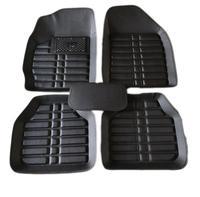 Car Floor Mats Universal for peugeot 5008 307 208 206 408 508 308 3008 301 2008 407 207 sw Car Leather floor mats carpet liner