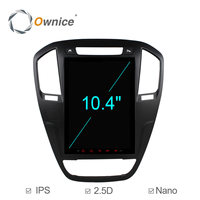 Octa Core 10.4 9.7 Vertical IPS 2.5D Screen Android 6.0 Car DVD Radio for BUICK Regal 2009 2013 opel insignia 32G ROM 4G SIM