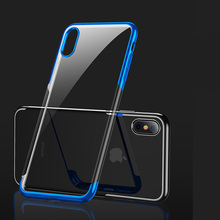 Silicon Clear Case For iPhone X XR XS MAX 10 6 S 6S 7 8 Plus 6Plus 7Plus 8Plus For Samsung S8 S9 Note8 Note 9 Phone Cover luxury square leather for iphone xs max xr x xs 6 6s 7 8 plus fashion phone case for samsung s8 s9 s10 plus note10 pro note8 9