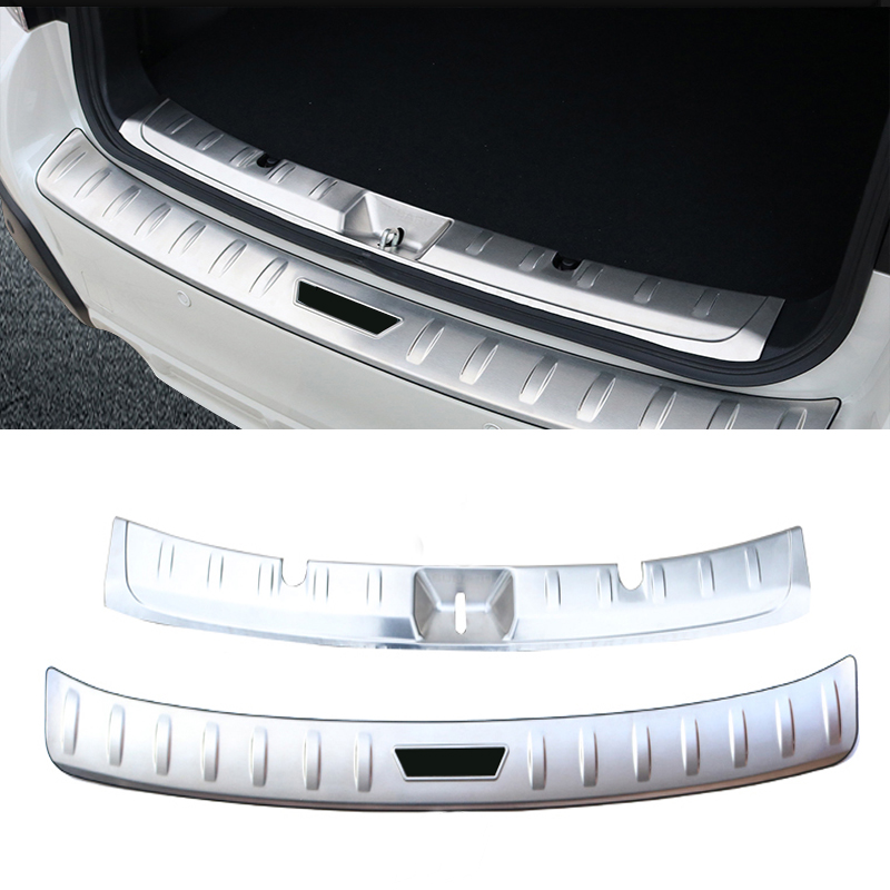 0b428a29e For Subaru XV 2018 Stainless Steel Rear Bumper Protector Sill Trunk Rear  guard plate Cover Trim car styling accessories => sale off 70%.