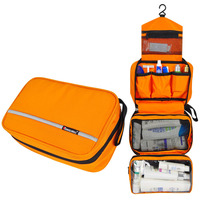 5 Color Multifunctional Portable Folding Travel Storage Bag Luxury Wash Bag Hanging Cosmetics Storage Container