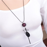 Mdiger 2 Pcs Lot Hot Necklace Jewelry Red Apple Pendants Necklace Chains Necklaces Alloy Collar Star
