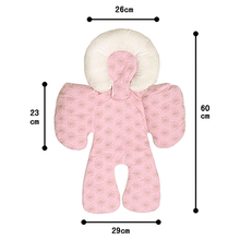 Reversible Baby Infant Newborn Stroller Body Support Cushion