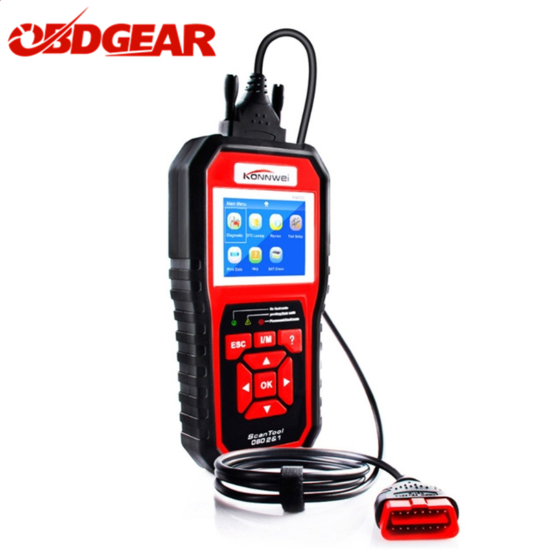 2018 Best OBD 2 Autoscanner OBD2 Scanner KONNWEI KW850 Full ODB2 Scanner Supports Multi-languages ODB 2 Auto Diagnostic Scanner